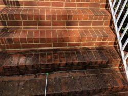 brick work after